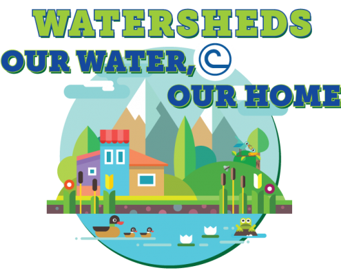 2018 Watersheds: Our Water, Our Home Logo